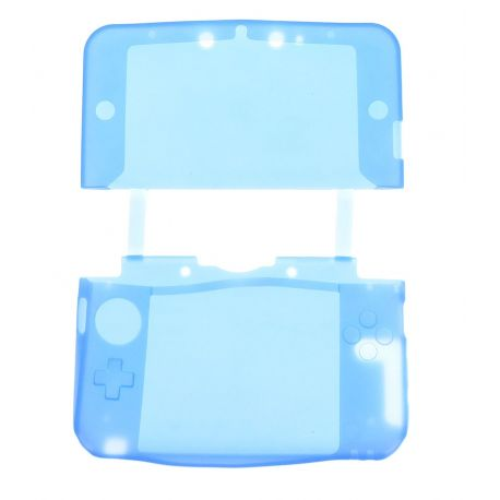 Housse de protection silicone bleu Nintendo NEW 3Ds.xl