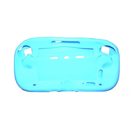 Game pad Nintendo Wii U coque de protection complete souple bleue ciel