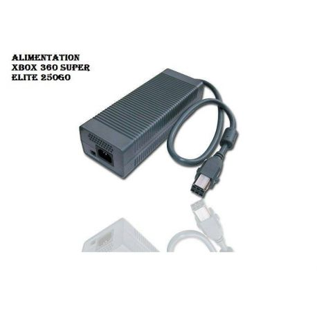 Alimentation pour Xbox 360 Super Elite 250Go