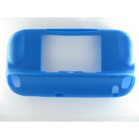 Game pad Nintendo Wii U coque de protection souple bleue