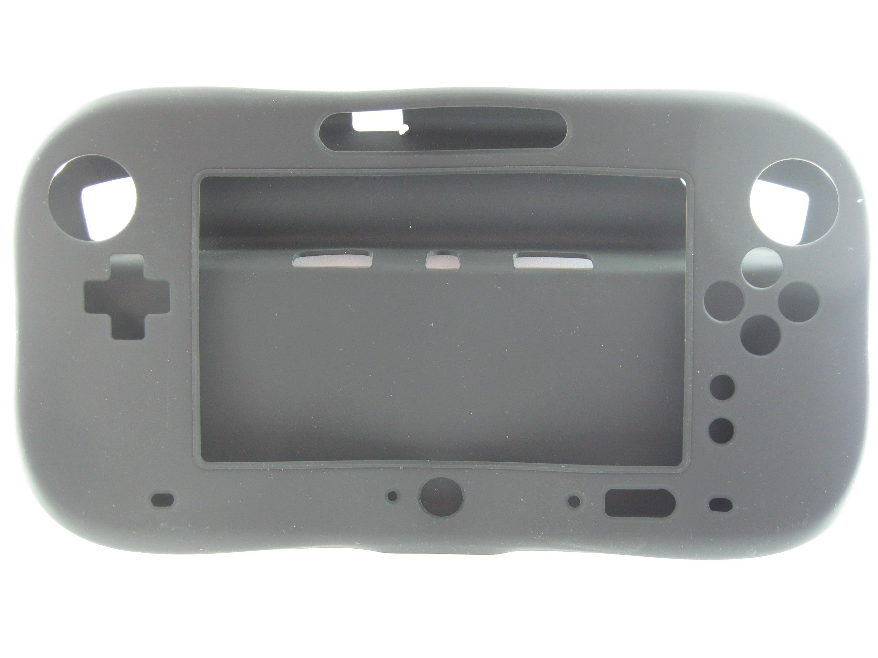 Game pad Nintendo Wii U coque de protection complete souple noir