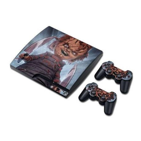 Sticker collant ps3 slim & manettes: Chunky