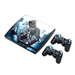 Sticker collant ps3 slim & manettes: Assassin's creed