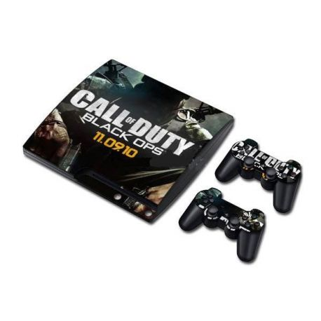 Sticker collant ps3 slim & manettes: Call of duty