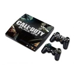 Sticker collant ps3 slim & manettes: Call of duty 2