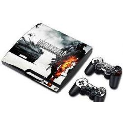 Sticker collant ps3 slim & manettes: Battlefield