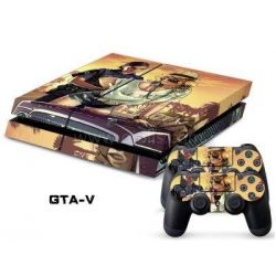 Sticker collant ps4 & manettes: GTA
