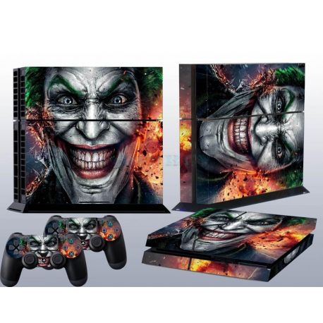 Sticker collant ps4 & manettes: Joker