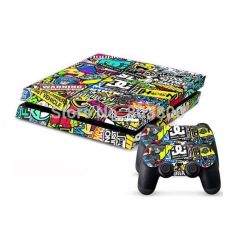 Sticker collant ps4 & manettes: Cool