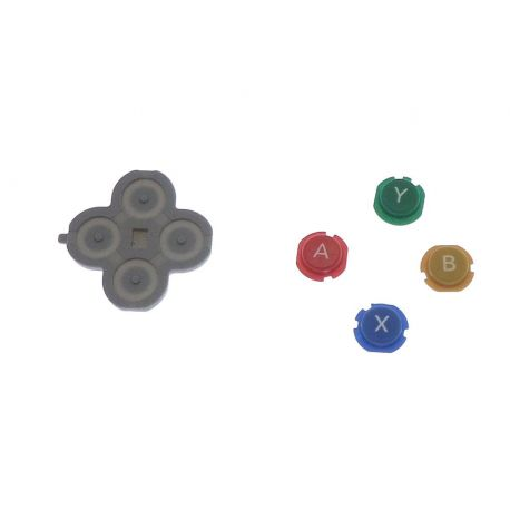 Bouton ABYX Nintendo NEW 3Ds
