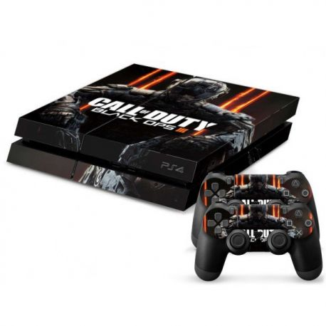 sticker autocollant call of duty black ops 3 pour playstation 4