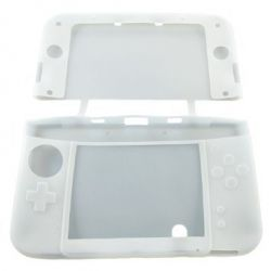 Housse de protection silicone blanche Nintendo NEW 3Ds.xl