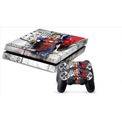 Sticker collant ps4 & manettes: Messi