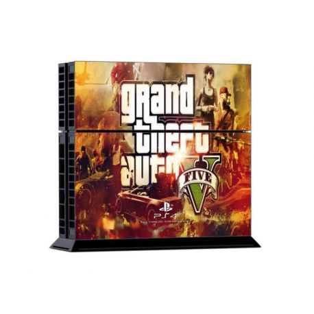 Sticker collant ps4 & manettes: GTA V