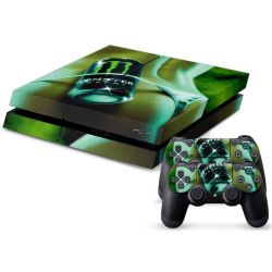 Sticker collant ps4 & manettes: monster modele 1