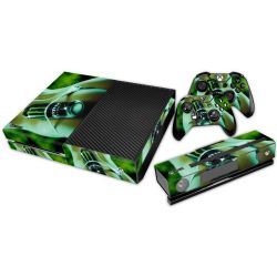 Sticker collant xbox one & manettes: Monster modele 1